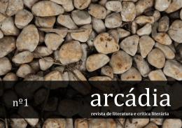 Arcádia - Revista de Literatura e Crítica Literária - IEL