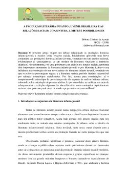 Débora Cristina de Araujo - XI Congresso Luso Afro Brasileiro de