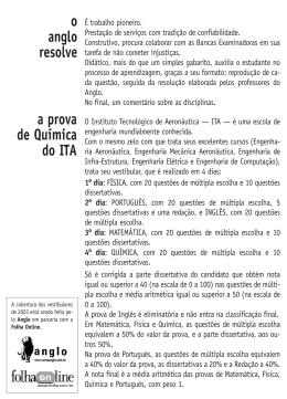 ITA » 2003 - Folha de S.Paulo