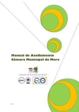 Manual de Acolhimento Câmara Municipal de Mora