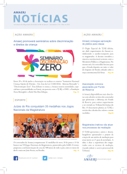 Amaerj Notícias – Mai 2015