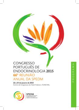 congresso português de endocrinologia 2015 66ª reunião anual da