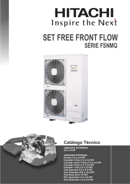 Catálogo Técnico VRF Set-Free FRONT FLOW IHCAT