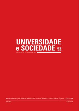 UNIVERSIDADE e SOCIEDADE 53 - Andes-SN