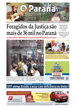 Foragidos da Justiça são mais de 36 mil no Paraná