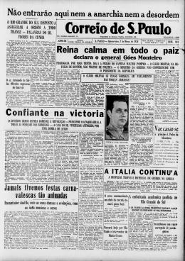 CORREIO DE S. PAULO
