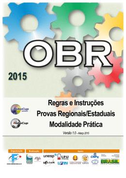 regras obr 2015 - Escola Monteiro Lobato