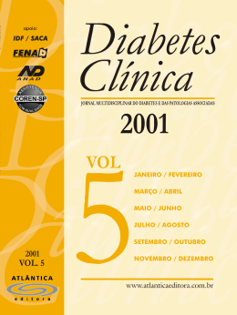 Diabetes_2001 - Faculdade Montenegro