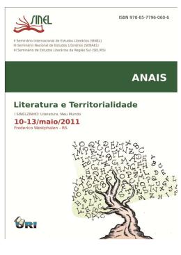 Seminário De Estudos Literários Da Região Sul (SELIRS