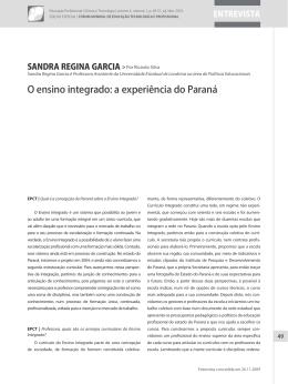 O ensino integrado: a experiência do Paraná