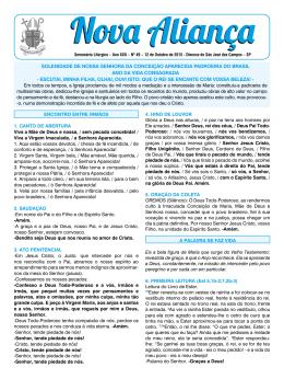 12/10/2015 - Diocese de São José dos Campos