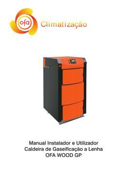 Manual Instalador e Utilizador Caldeira de