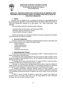 1/3 anexo xiii - especificações para contratação de