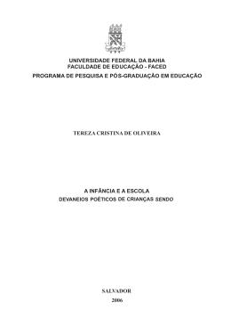 Tese Tereza de Oliveira - RI UFBA