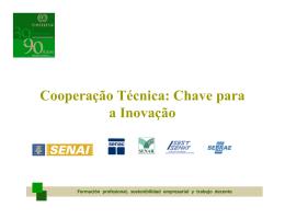 Cooperação Técnica: Chave para a Inovação