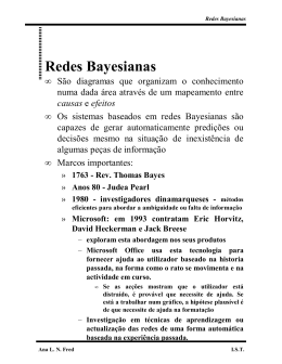 Redes Bayesianas