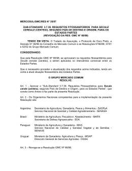 mercosul/gmc/res n° 35/07 sub-standard 3.7.39. requisitos