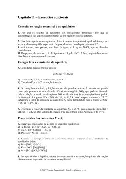 EXERCÍCIOS ADICIONAIS – CAPÍTULO 1