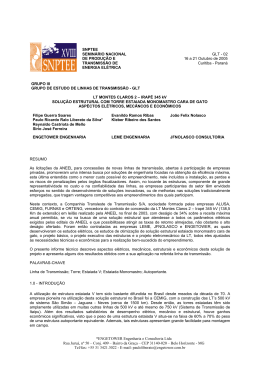 ENGETOWER Engenharia e Consultoria Ltda Rua Juruá, nº
