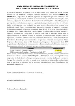Ata nº 02 - Carta Convite 001/2015