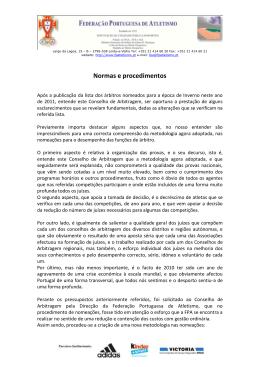 Normas e Procedimentos 2011 pdf