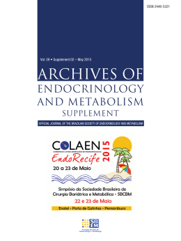 PDF - 4.1 MB - Archives of Endocrinology and Metabolism