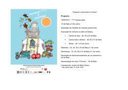 """""""Desporto motorizado é Cultura"""" Programa: 18/05/2013 – 17 H"""