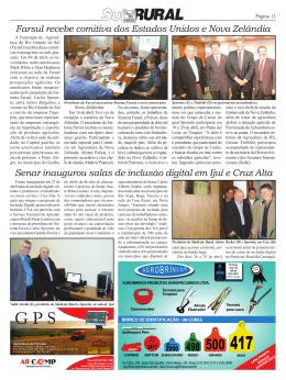 Senar inaugurou salas de inclusão digital em Ijuí e Cruz Alta Farsul