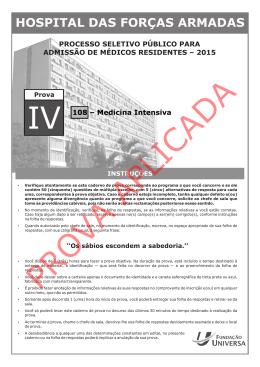 prova_iv - Residência Médica