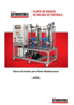 Banco de Ensaios para Planta Multiprocesso - XC902 -