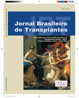 JBT Jornal Brasileiro de Transplantes