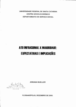 ATO NERACIONAL X MAIORIDADE: EXPECTATIVAS E