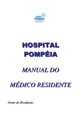 Manual do Médico Residente