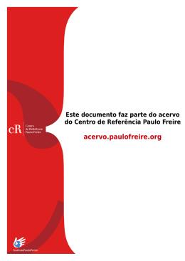 PAULO ROBERTO PADILHA - Centro de Referencia Paulo Freire