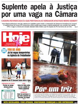 PARCERIA - Jornal Hoje