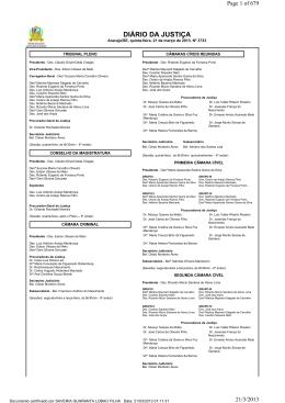 Diário da Justiça de Sergipe - Tribunal de Justiça de Sergipe