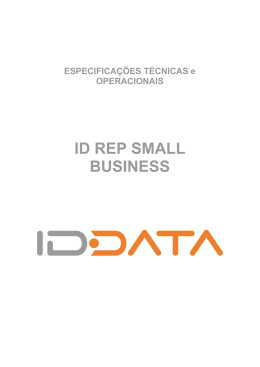 Especificações Small Business