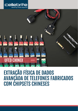 UFED Chinex - Cellebrite
