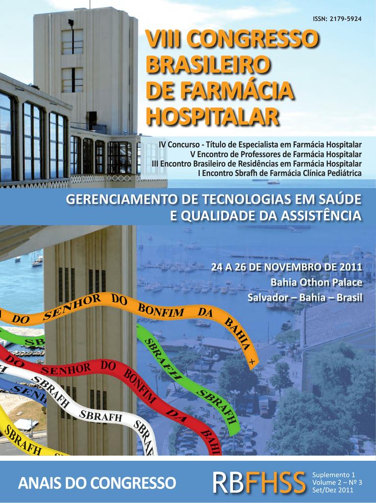 d27fb429d viii congresso brasileiro de farmácia hospitalar anais do