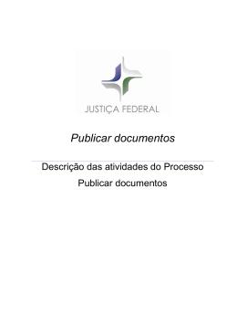 Publicar documentos