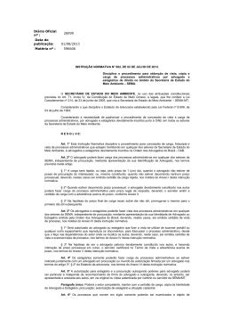 Diário Oficial nº : 26099 Data de publicação: 01/08/2013