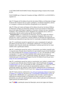 em pdf - Câmara de Vereadores de Bagé