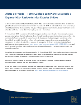 Alerta de Fraude Alerta de Fraude – Tome Cuidado com Plano