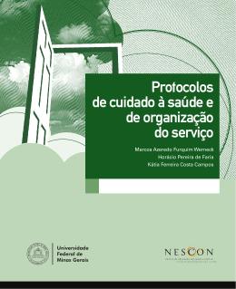 Protocolo de cuidado à saúde e de organização de serviço