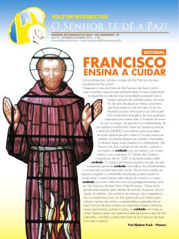 são francisco e o - Franciscanos.org.br