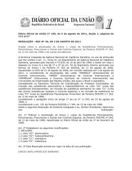 Diário Oficial da União nº 150, de 5 de agosto de 2011, Seção 1