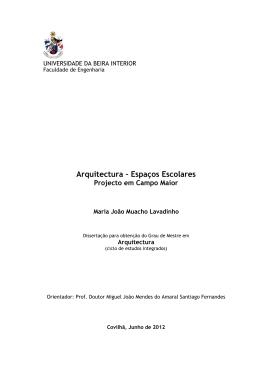 parte teorica - uBibliorum - Universidade da Beira Interior