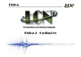 Física Física 2 - Oscilações - gpcmb-ufma