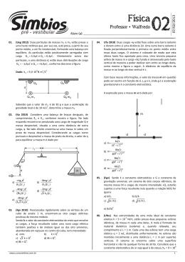 Física - Colégio e Curso Simbios