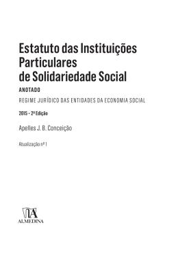 Estatuto das Instituições Particulares de